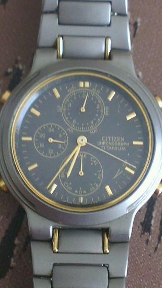 Citizen Chronograph Titanium Bild