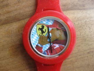 Tymer Michael Schumacher Uhr Armbanduhr Kautschuk Ferrari Bild