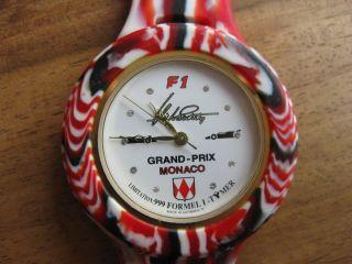 Tymer Uhr Grand - Prix Monaco Formel 1 Highsociety F1 Limitiert Glitzersteine Bild