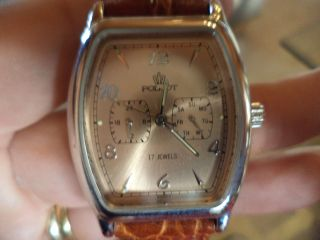 Russische Poljot Uhr Nr 0874 / 1000 Auflage Nur 1000 Stück Bild