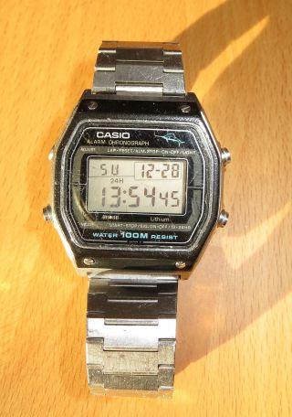 Casio W - 450 Marlin Chronograph Armbanduhr,  100m Wasserdicht,  Leichtgewicht Sport Bild