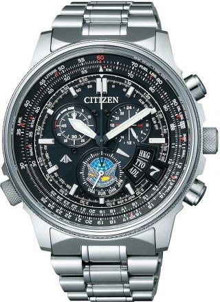 Citizen Promaster Sky By0080 - 65e Blue Impulse Jasdf Limited Japan Bild