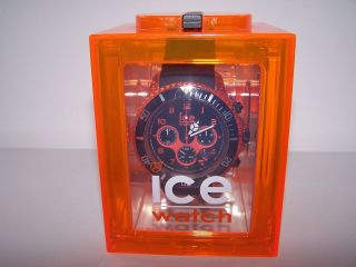 Ice Watch Chrono Black - Orange Bild