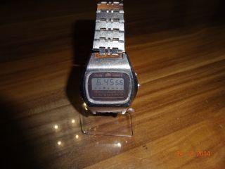 Alte Orient Quartz Lcd Uhr Chronograph Bild