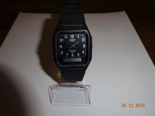 Casio Analog,  Digital Uhr Bild