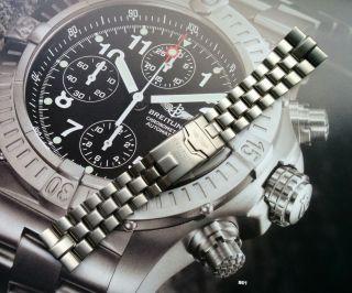 880e - Breitling Band - Professional Bracelet Chrono Avenger - Titanium Bild
