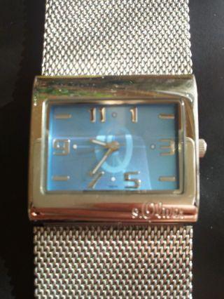 Edle Armbanduhr S.  Oliver Metallarmband Bild