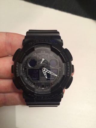 Casio G - Shock Ga100 1a1er Bild