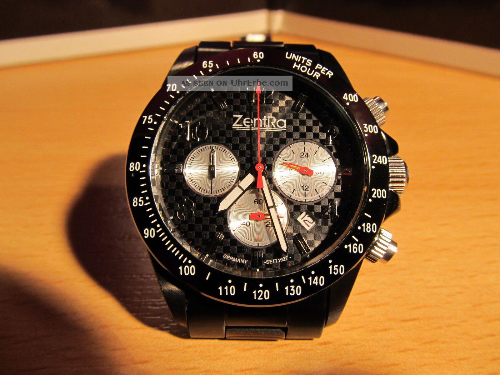 Zentra Chronometer Armbanduhren Bild
