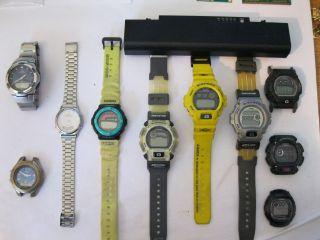 13 Uhren Konvolut Casio G - Shock Wva - 105h Dw - 9005 Bg - 158 Dw - 002 Bild