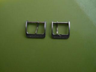 2 X Longines Dornschliesse Schliesse 16mm Und 14mm Bild