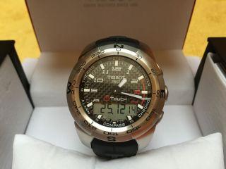 Tissot T - Touch Expert Herrenchronograph Mit Kautschukband Bild