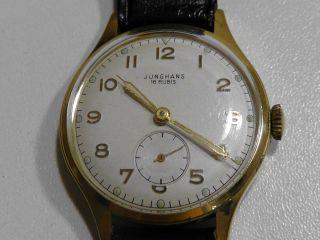Armbanduhr Junghans 1950er Jahre Bild