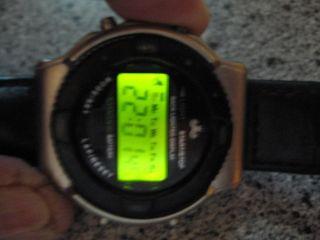 Meister Anker Lcd Quarz Uhr - Back Lighted Display,  Grün Bild