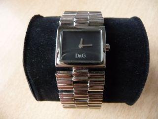 D&g Dolce Gabbana Uhr Silber Armbanduhr Geschenk Bild