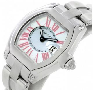 Cartier Roadster Ladies Mother Of Pearl,  Nagelneu, Bild