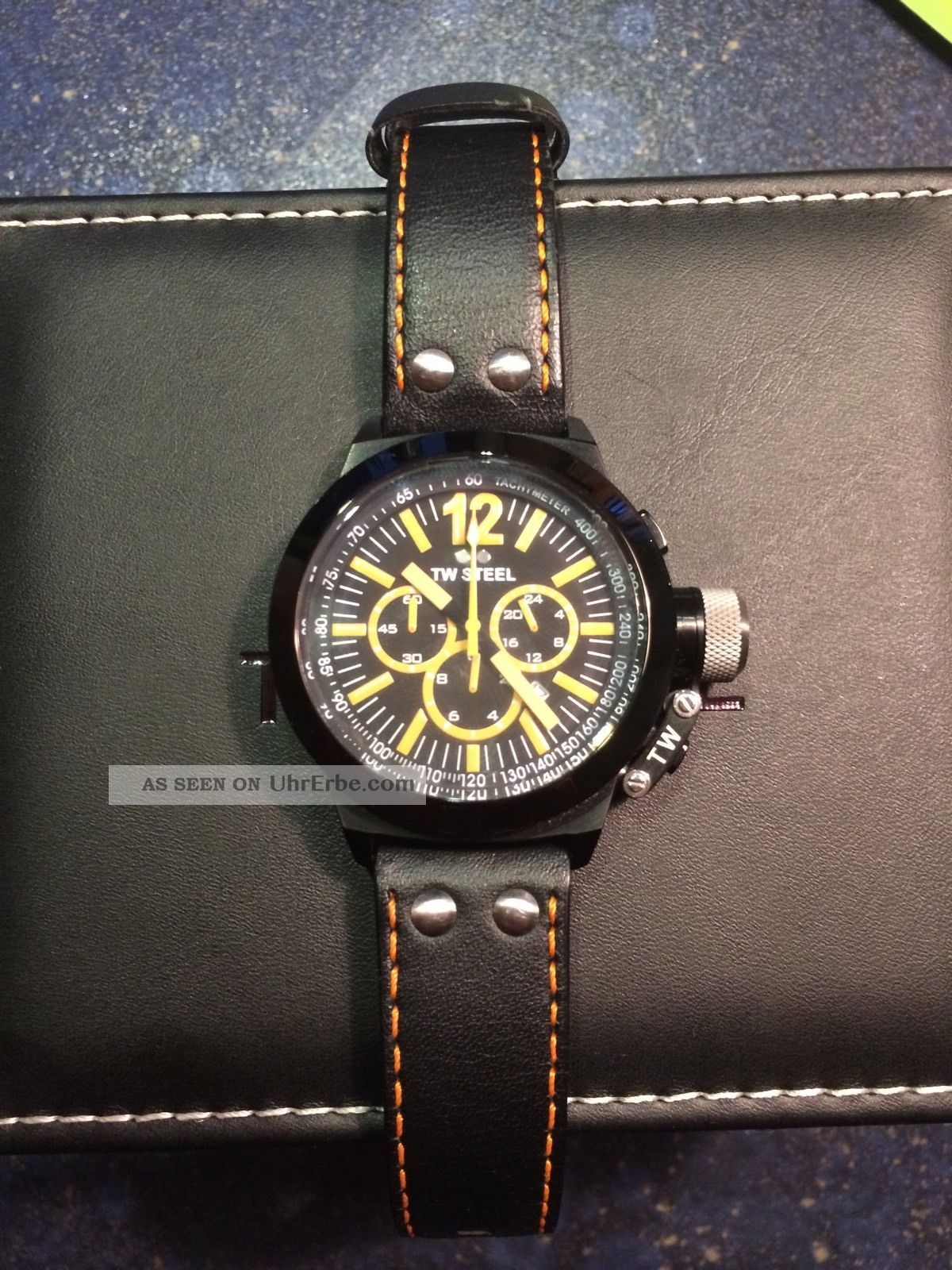 Tw - Steel Armbanduhr Ceo Canteen Twce 1029 - Fast Unbenutzt - Komplett Mit Box - Armbanduhren Bild