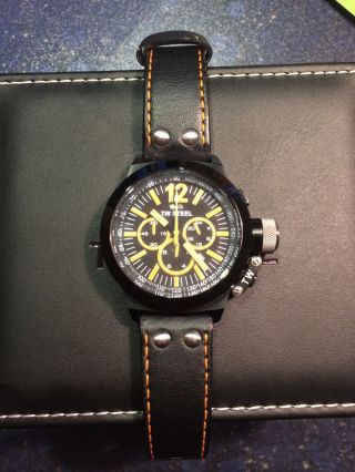 Tw - Steel Armbanduhr Ceo Canteen Twce 1029 - Fast Unbenutzt - Komplett Mit Box - Bild