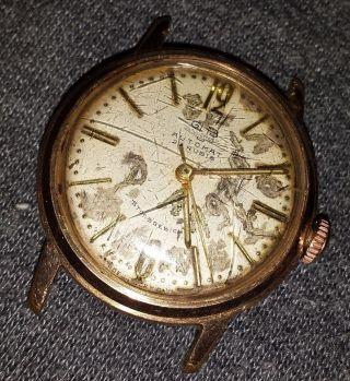 Glashütte Gub Automat Stossgesichert Automatic 70er Uhr Watch Vintage 23 Rubis Bild