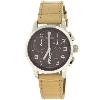 Victorinox Swiss Army 241320 Alliance Chronograph Edelstahl Quarz Armbanduhr Uni Bild