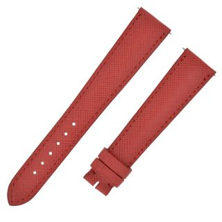 Armbanduhr Leder Band Rot Crosshatch 18 - 44mm - David Yurman Bild