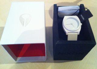Nixon Armbanduhr Time Teller P White Unisex Top (batterie Leer) Bild