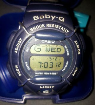 Casio Baby G - Shock,  Herrenarmbanduhr Mit Telefonbuch,  Animation Etc.  Top Bild