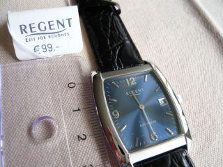 Armbanduhr Von Regent,  Kratzfestes Saphirglas,  Datum