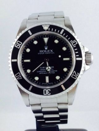 Rolex Submariner Ref 14060m Steel 40mm Automatic M Serie Box&papers Bild