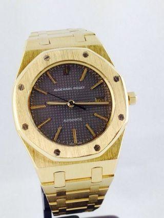 Audemars Piguet 18kt Gold Royal Oak Ref C78840 36mm Automatic Bild
