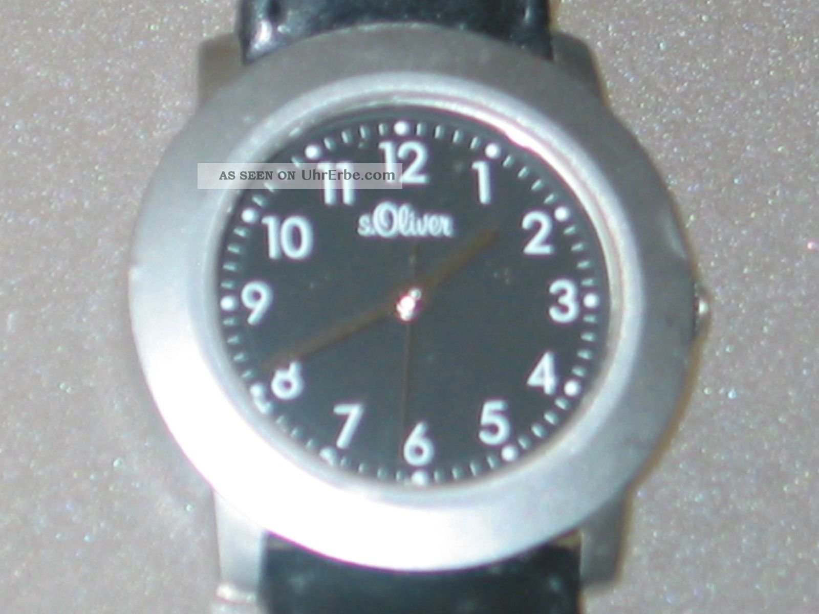 Armbanduhr S.  Oliver - Lederarmband Von S.  Oliver - Armbanduhren Bild