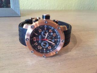 Tw Steel 130 Armbanduhr Chronografh Gold Wenig Uhr Bild
