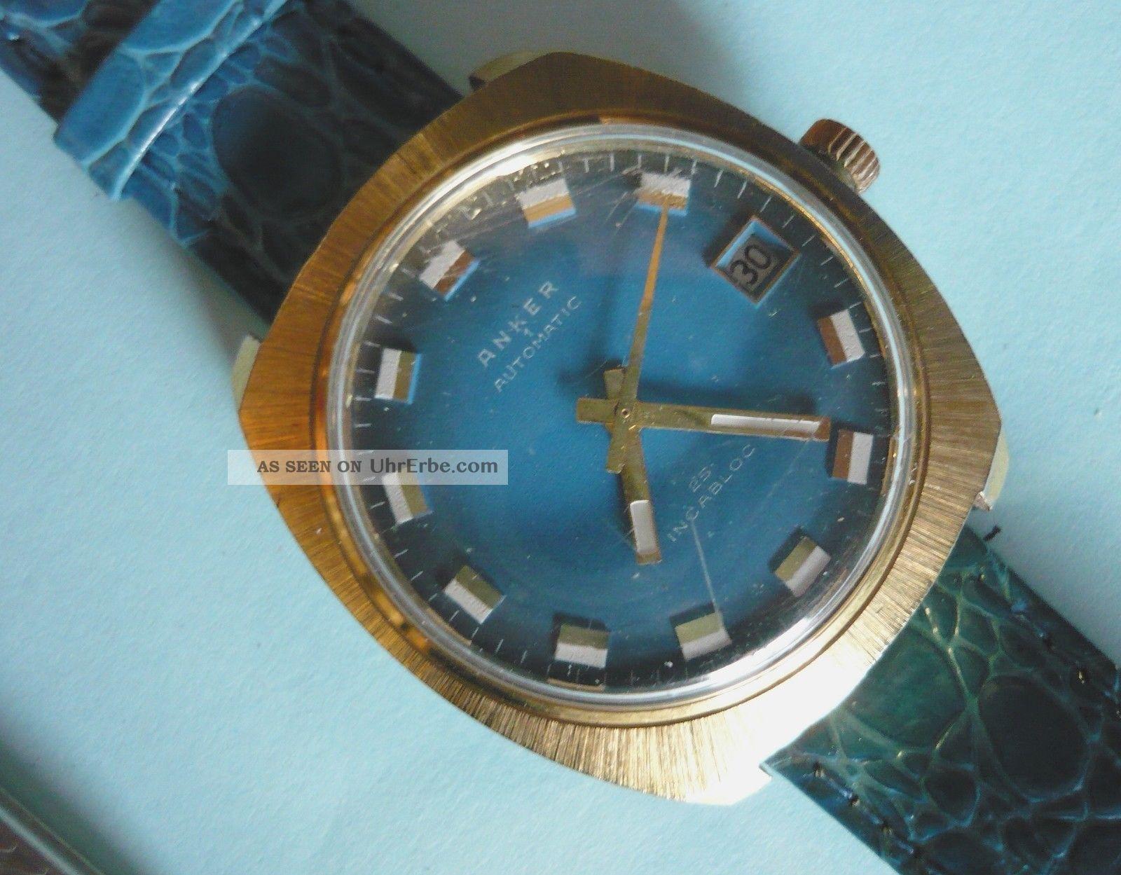 Armbanduhr Anker Automatic Armbanduhren Bild