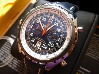 Breitling Chrono - Matic 24h Stahl Automatik Chronograph Chronometer A22360 Bild