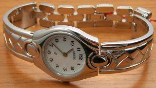 Aristo 8d17q Elegante Quartz Damenuhr Stahl Spangenband Uhr Watch Bild