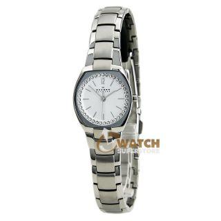Armbanduhr Skagen Skw2110 Damen Uhr Kristall Silber Edelstahl Armband Bild