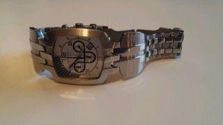 Sehr Schöne Diesel Herren Armband Uhr Edelstahl Bild