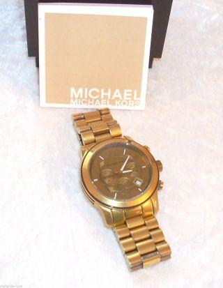 Michael Kors Uhr Herren Armbanduhr Mk8227 Runway & Bild
