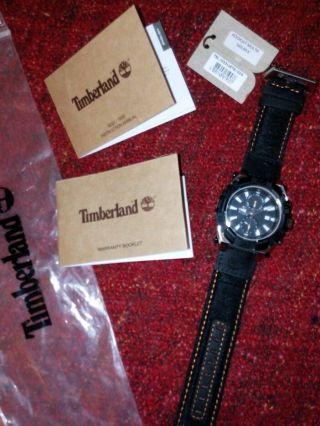 Timberland Uhr Chronograph Tbl.  13331jstb/02a Ovp Bild