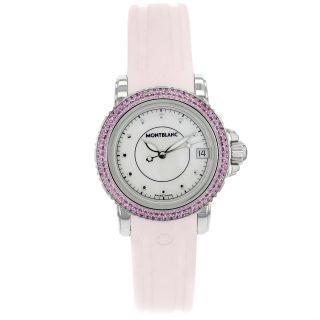 Monblanc Sport Damen 7036 Mop & Pink Saphir Quarz Damenuhr Bild