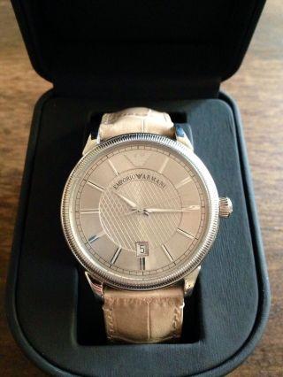 Armani Uhr Herren Mit Neuem Armband Bild