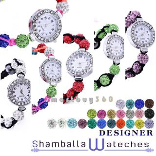 Neue Strass Wulstige Kristall Schmuck Armband Konstrukteur Armbanduhr Armreif Bild