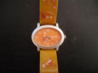 Damen Armbanduhr,  Uhr,  Esprit,  Orange Bild