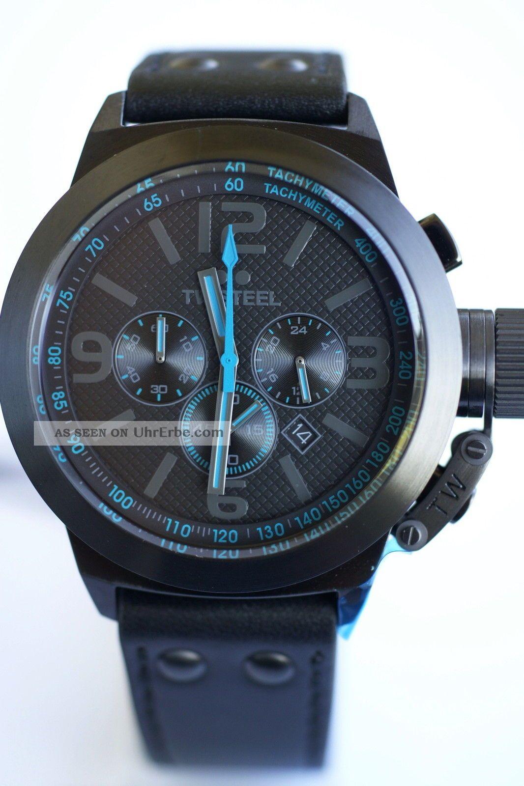 Tw - Steel 45mm - Xl Chrono ; Tw904 Armbanduhren Bild
