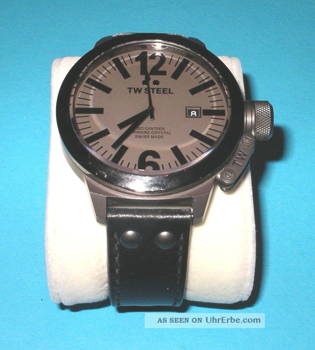 Tw Steel Ce1052 Ceo Canteen Style Herren Armbanduhr Top Armbanduhren Bild