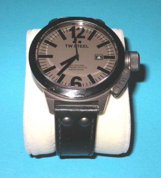 Tw Steel Ce1052 Ceo Canteen Style Herren Armbanduhr Top Bild