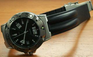 Aristo 4h73 Herrenuhr Quartz Edelstahl Kautschukband Watch Uhr Bild
