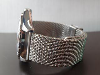Armband Edelstahl Gemisch Metall Taucher Für Raymond Weil Sport Bild