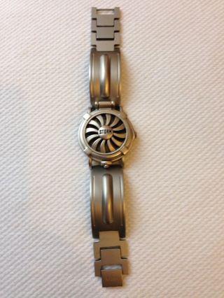 Storm Uhr Watch Modell Turbine Rare Collector 80er 90er Wie Bild