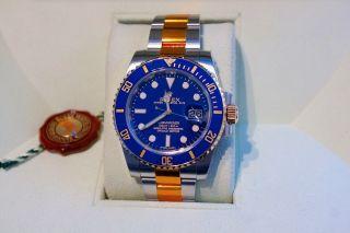 Rolex Submariner 116613 Lb - Stahl / Gold - - Verklebt 116613lb Bild